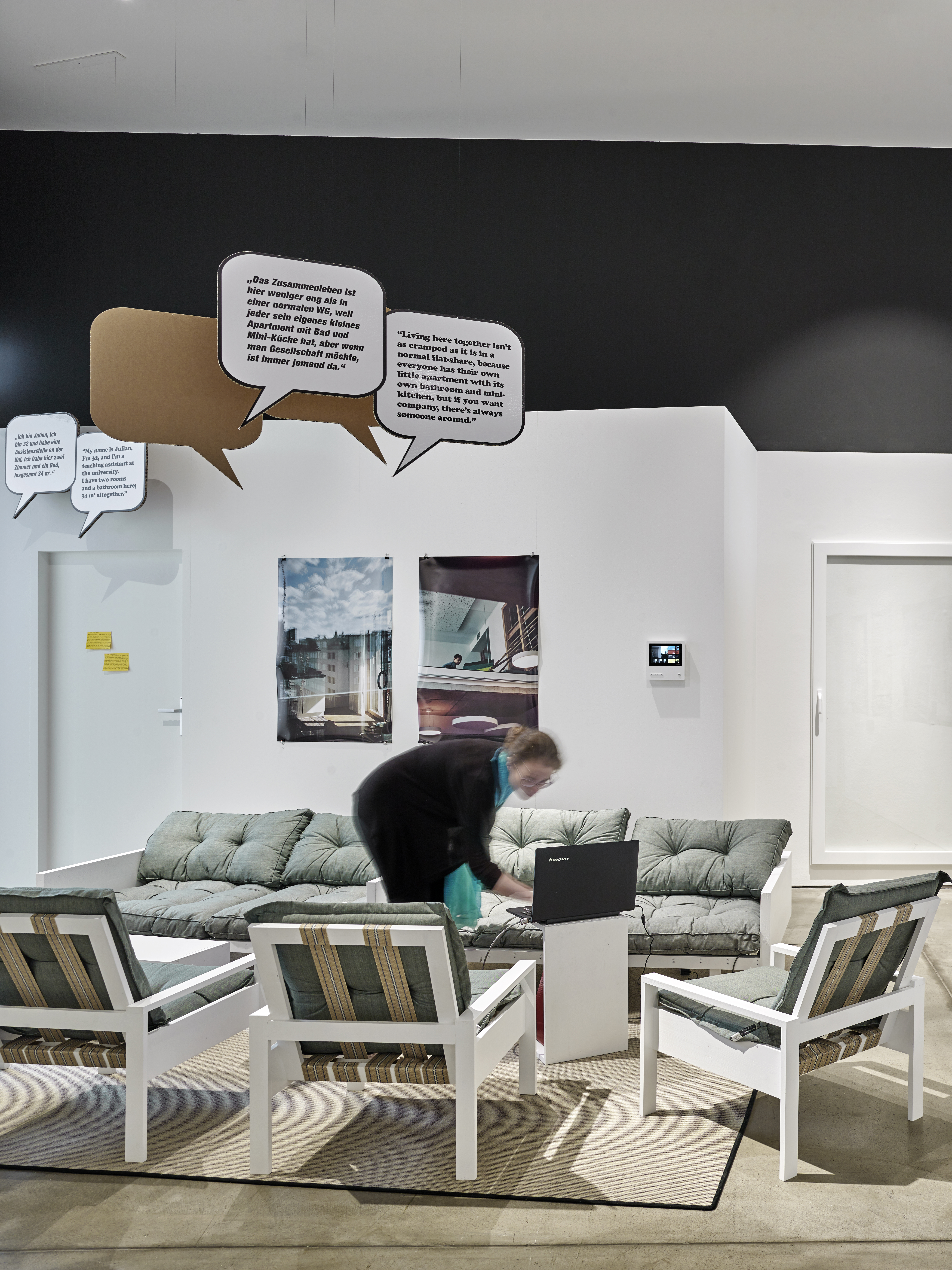 The vitra design museum shows the exhibition together stylepark in quotes the inhabitants report their experiences solutioingenieria Images