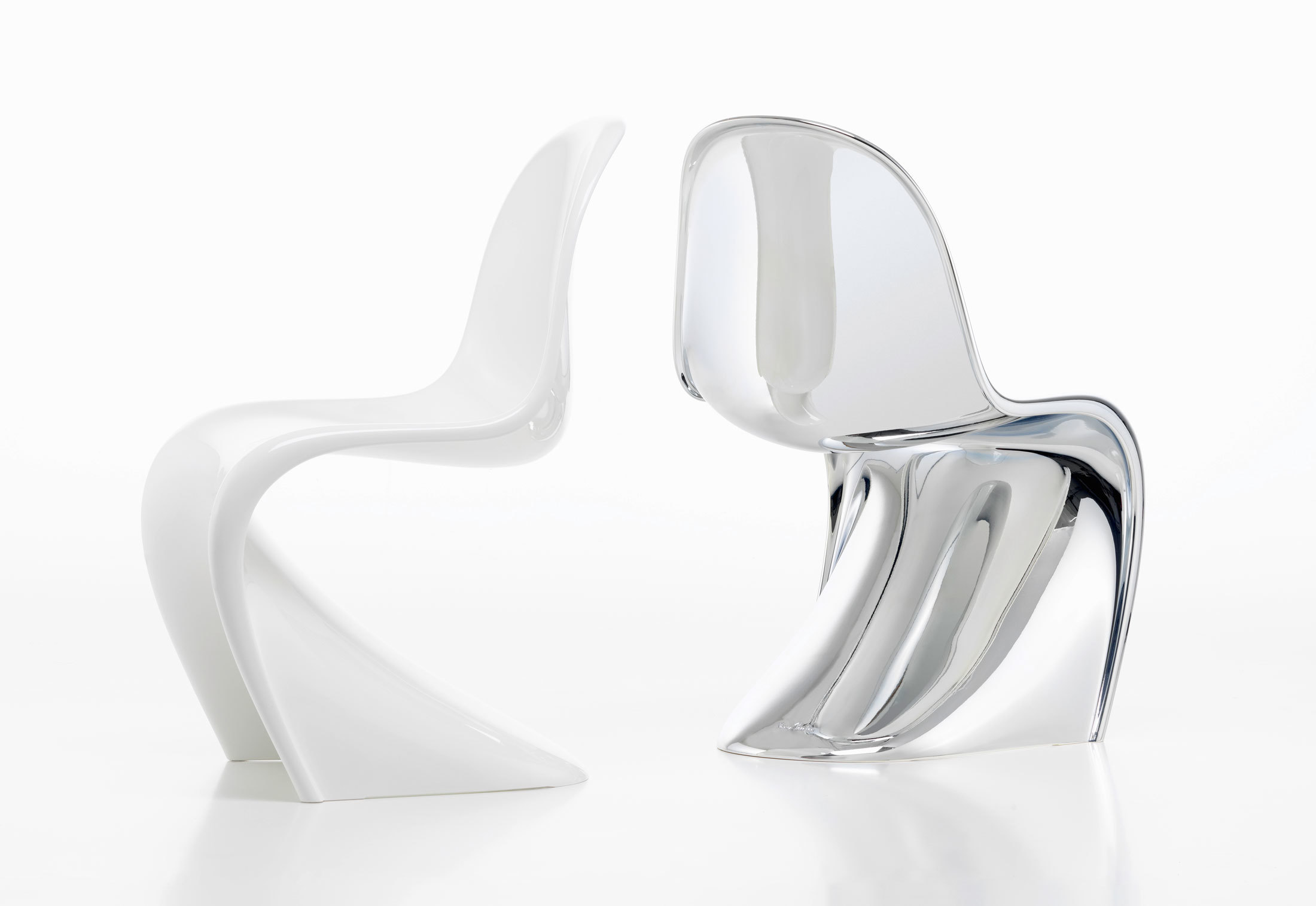 Vitra Panton Chair panton chrome by vitra stylepark