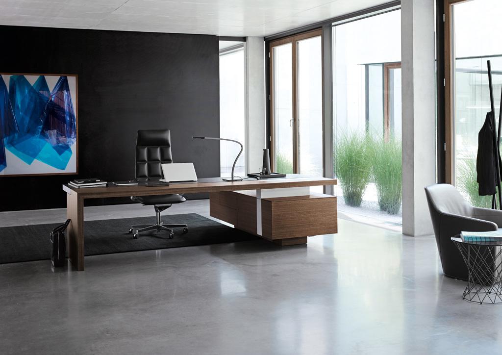 ceoo schreibtisch von walter knoll stylepark. Black Bedroom Furniture Sets. Home Design Ideas