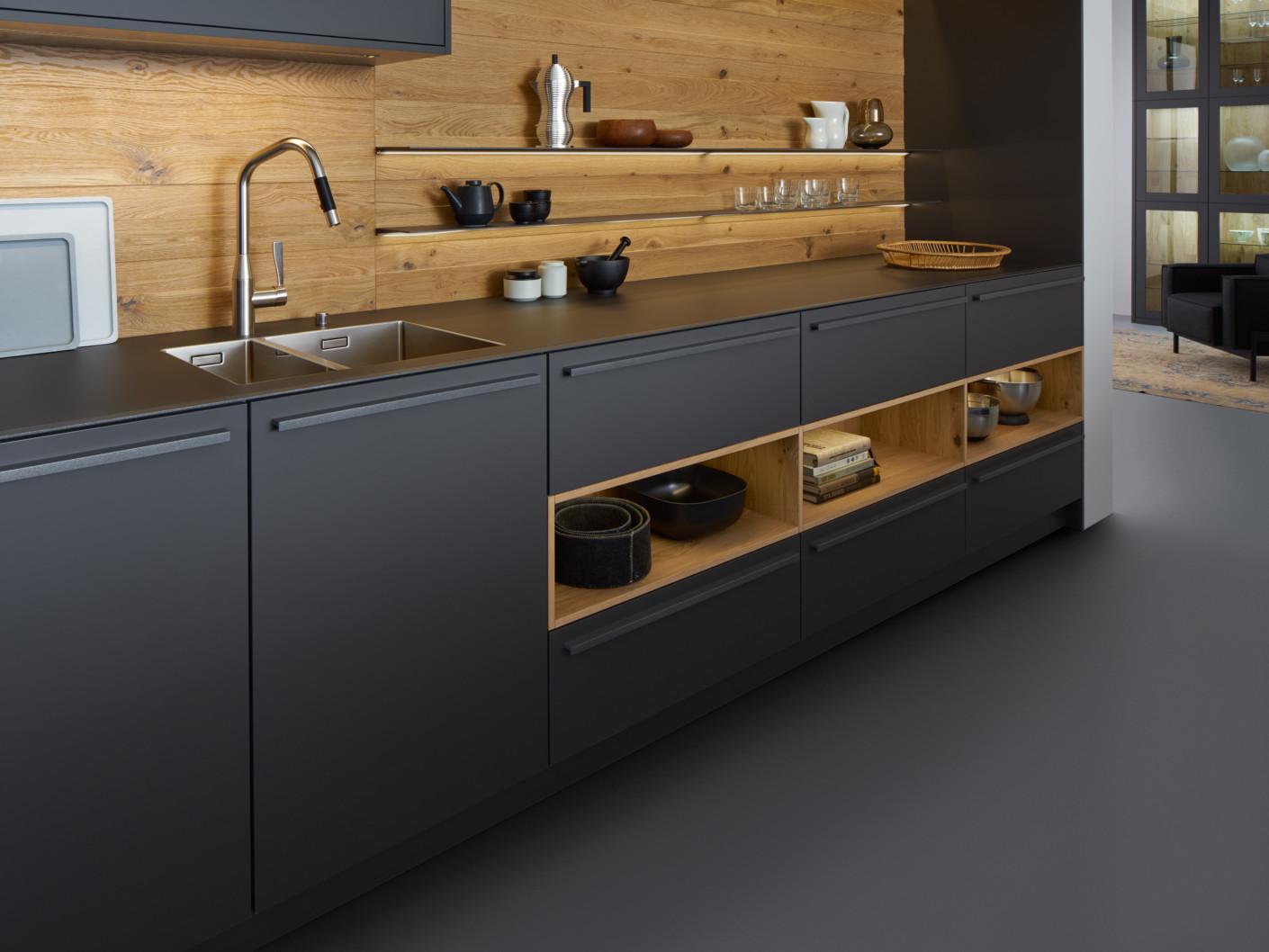 evo valais von leicht k chen stylepark. Black Bedroom Furniture Sets. Home Design Ideas