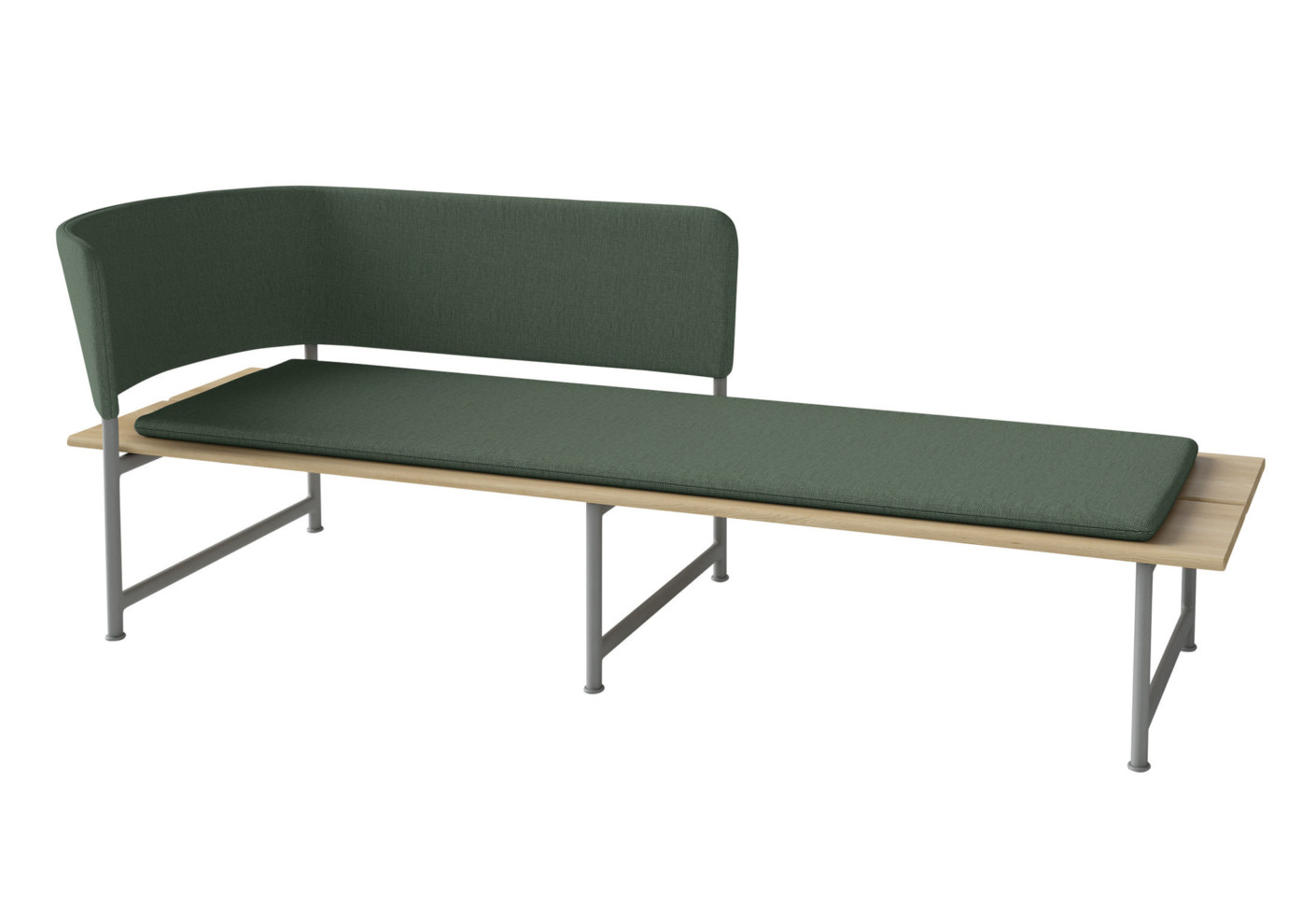 Atmosphere chaise longue by gloster furniture stylepark - Chaise longue chilienne ...