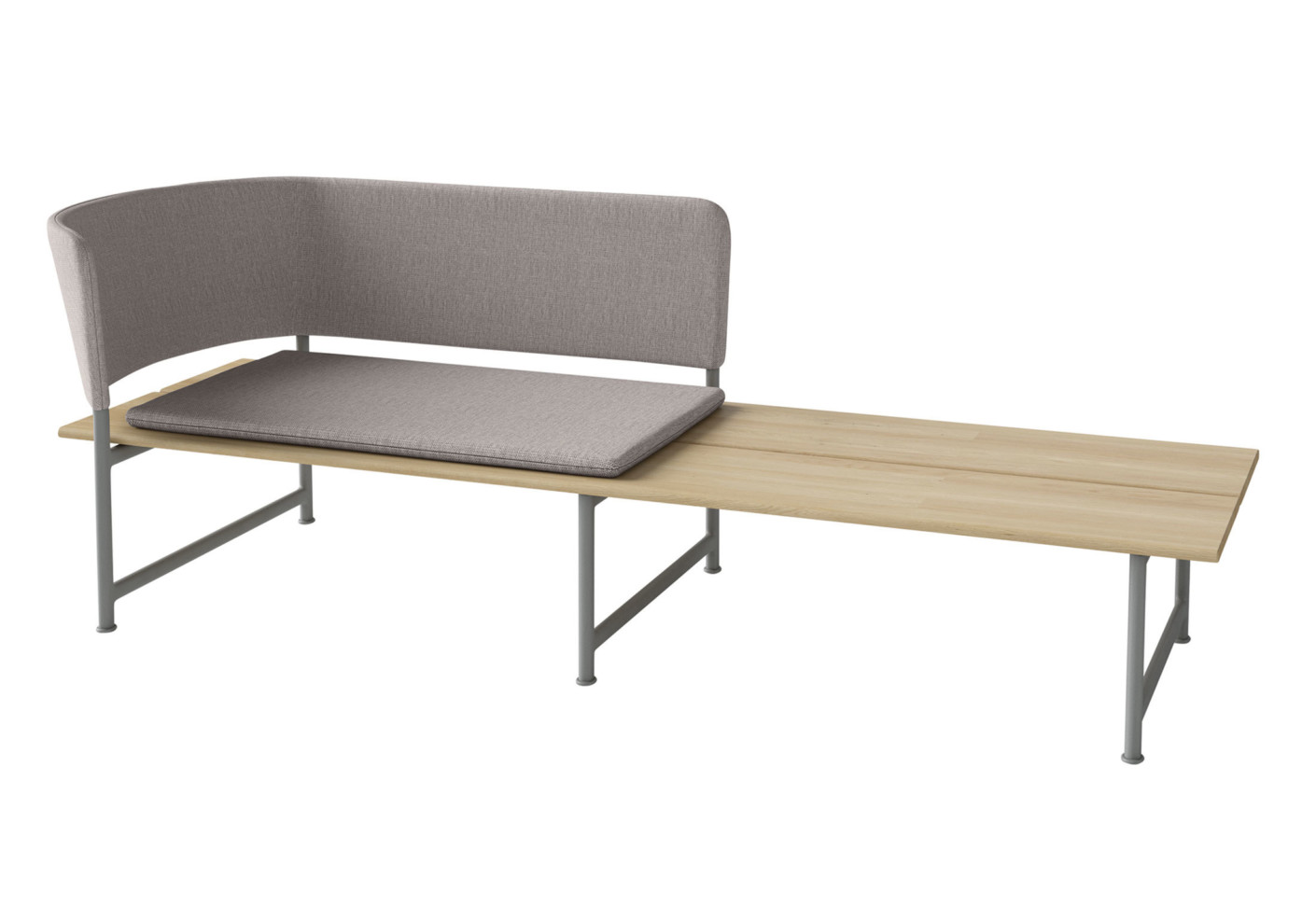 Atmosphere chaise longue by gloster furniture stylepark for Chaise longue furniture