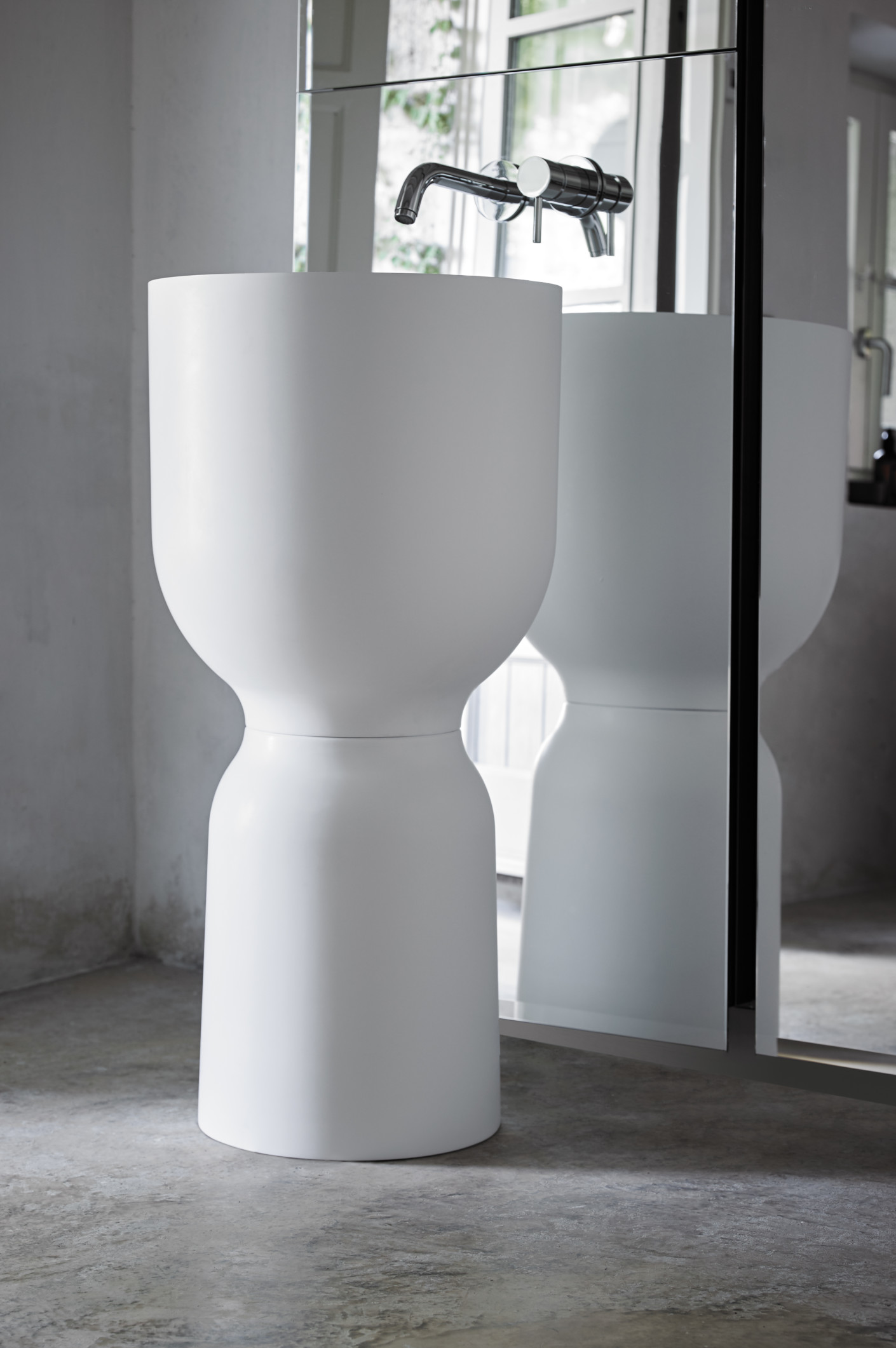 origin freistehendes waschbecken von inbani stylepark. Black Bedroom Furniture Sets. Home Design Ideas