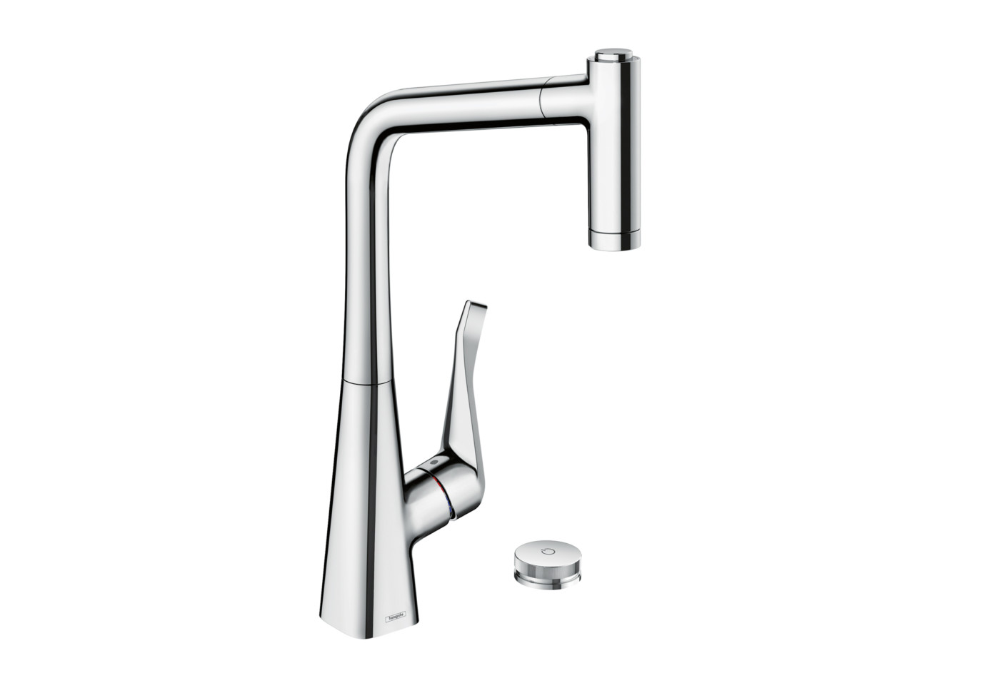 metris select single lever kitchen mixer with pull