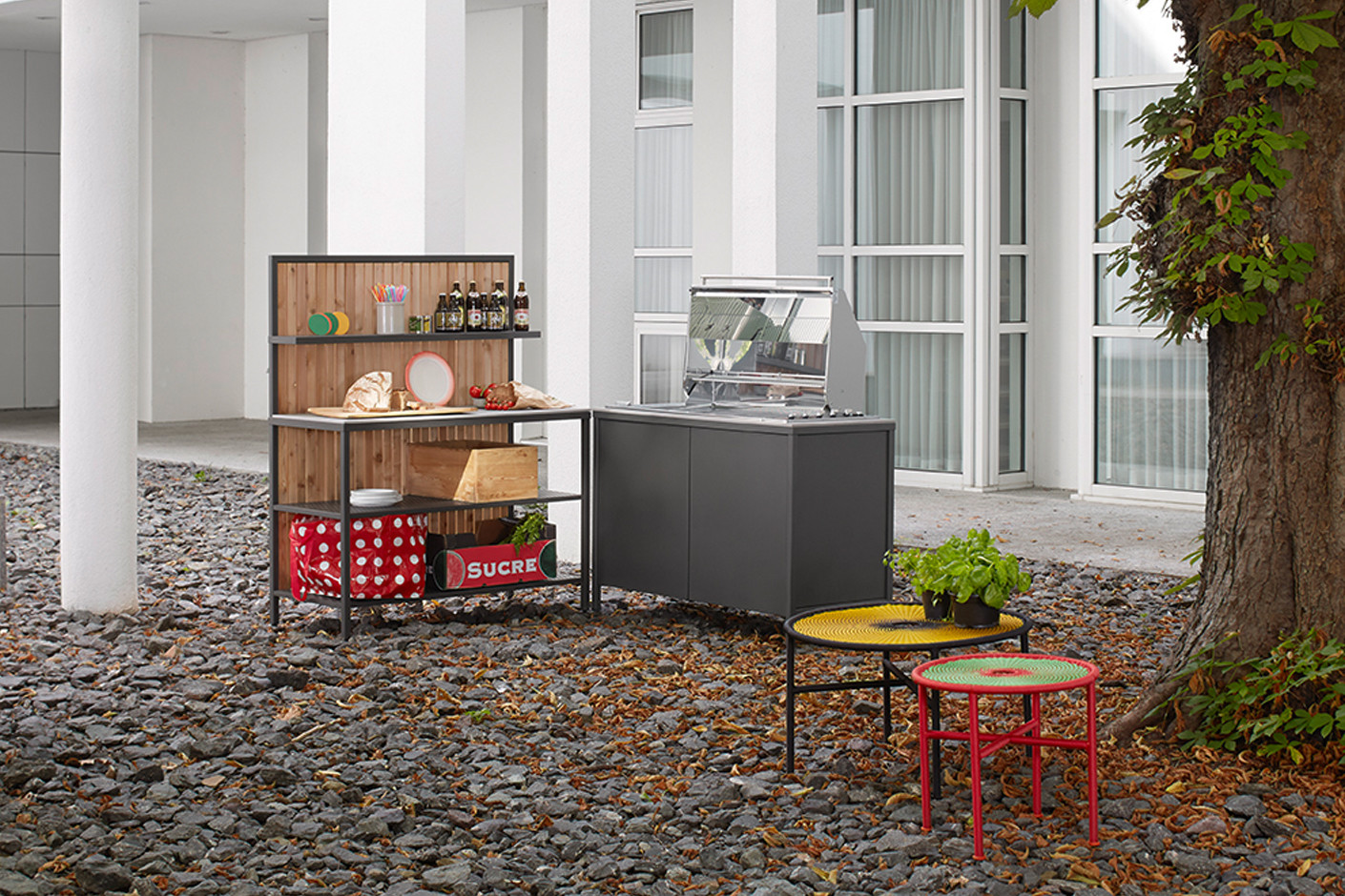 Türen Für Außenküchen : Grad outdoor kÜche außenküchen von jan cray architonic