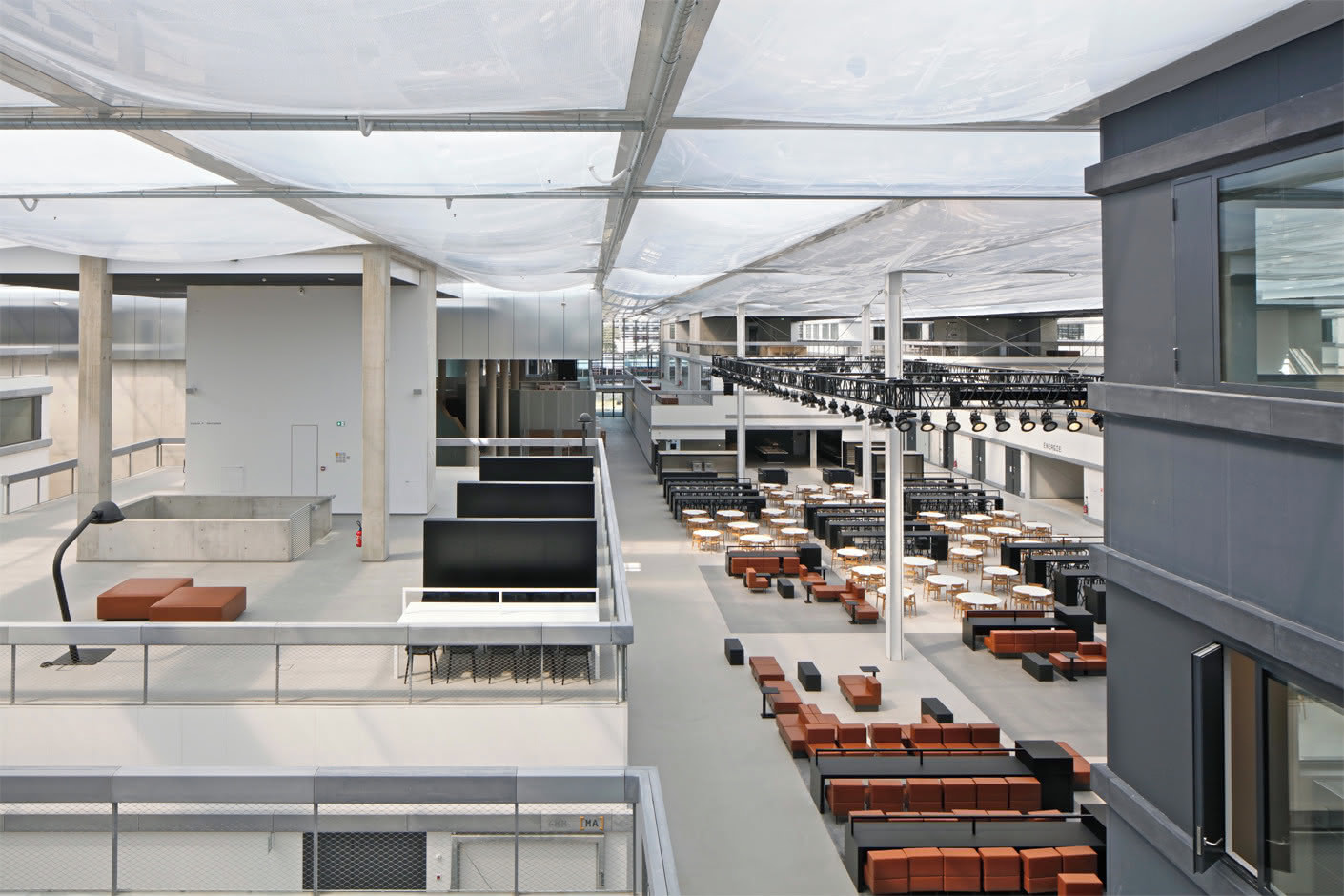 Lab City By Oma For Centralesup 233 Lec In Paris Saclay