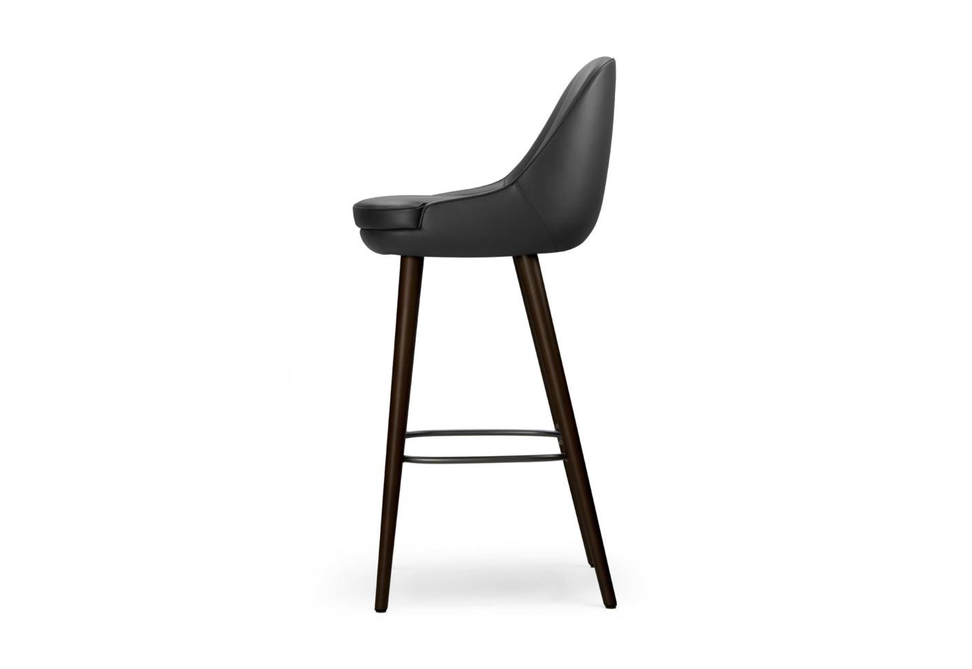 375 barhocker von walter knoll stylepark. Black Bedroom Furniture Sets. Home Design Ideas