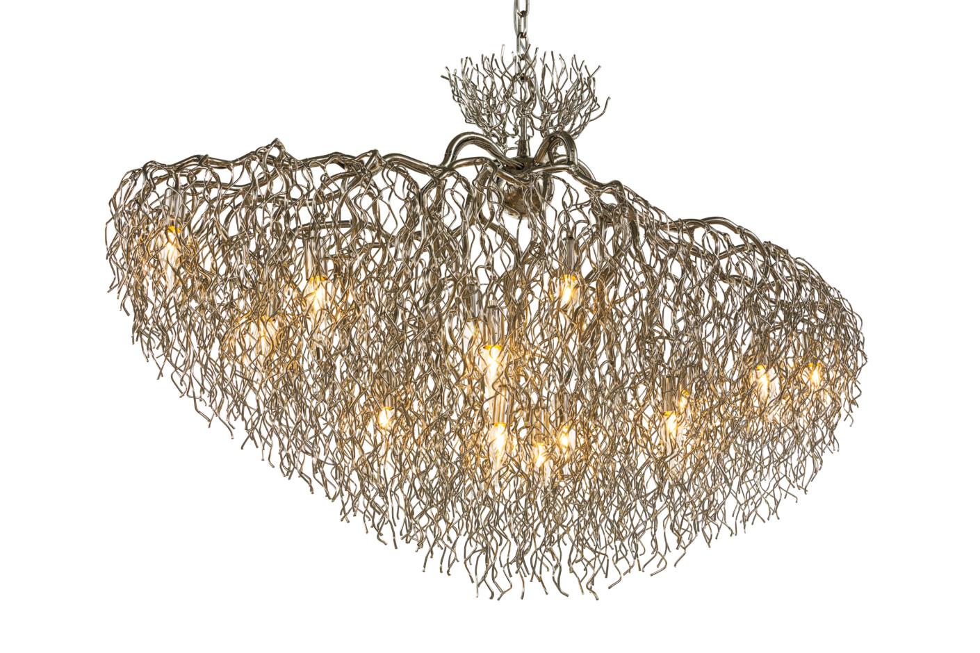 Hollywood chandelier conical oval by brand van egmond stylepark arubaitofo Gallery