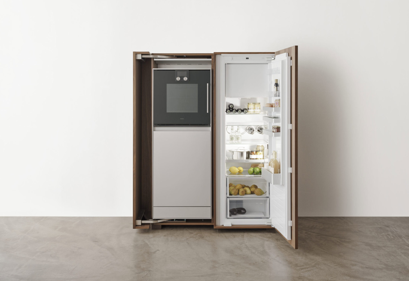 bulthaup b2 kitchen appliance housing cabinet by bulthaup stylepark. Black Bedroom Furniture Sets. Home Design Ideas