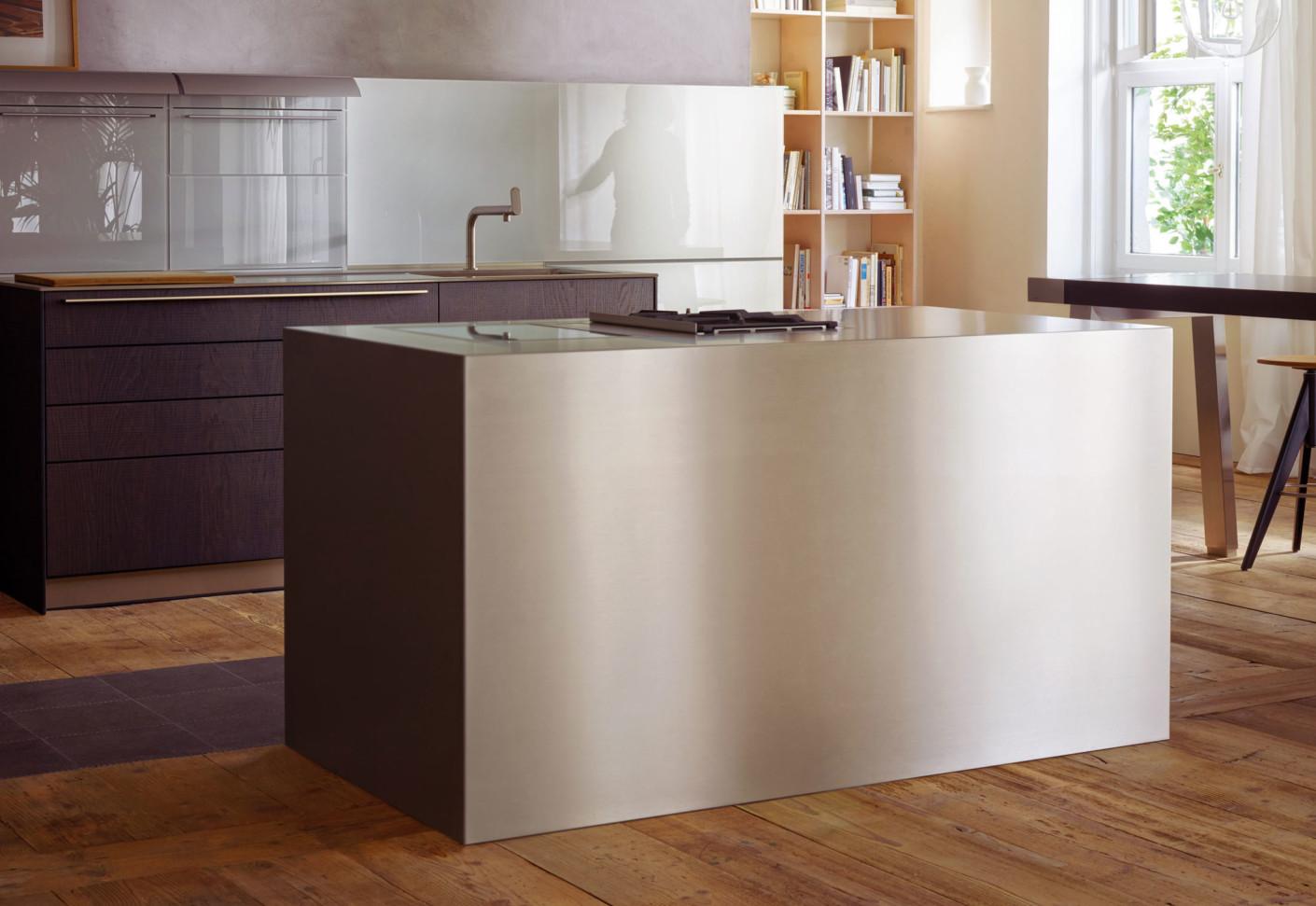 bulthaup b3 edelstahl und aluminium von bulthaup stylepark. Black Bedroom Furniture Sets. Home Design Ideas