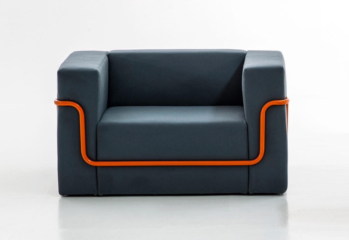 conduit armchair by moroso stylepark. Black Bedroom Furniture Sets. Home Design Ideas