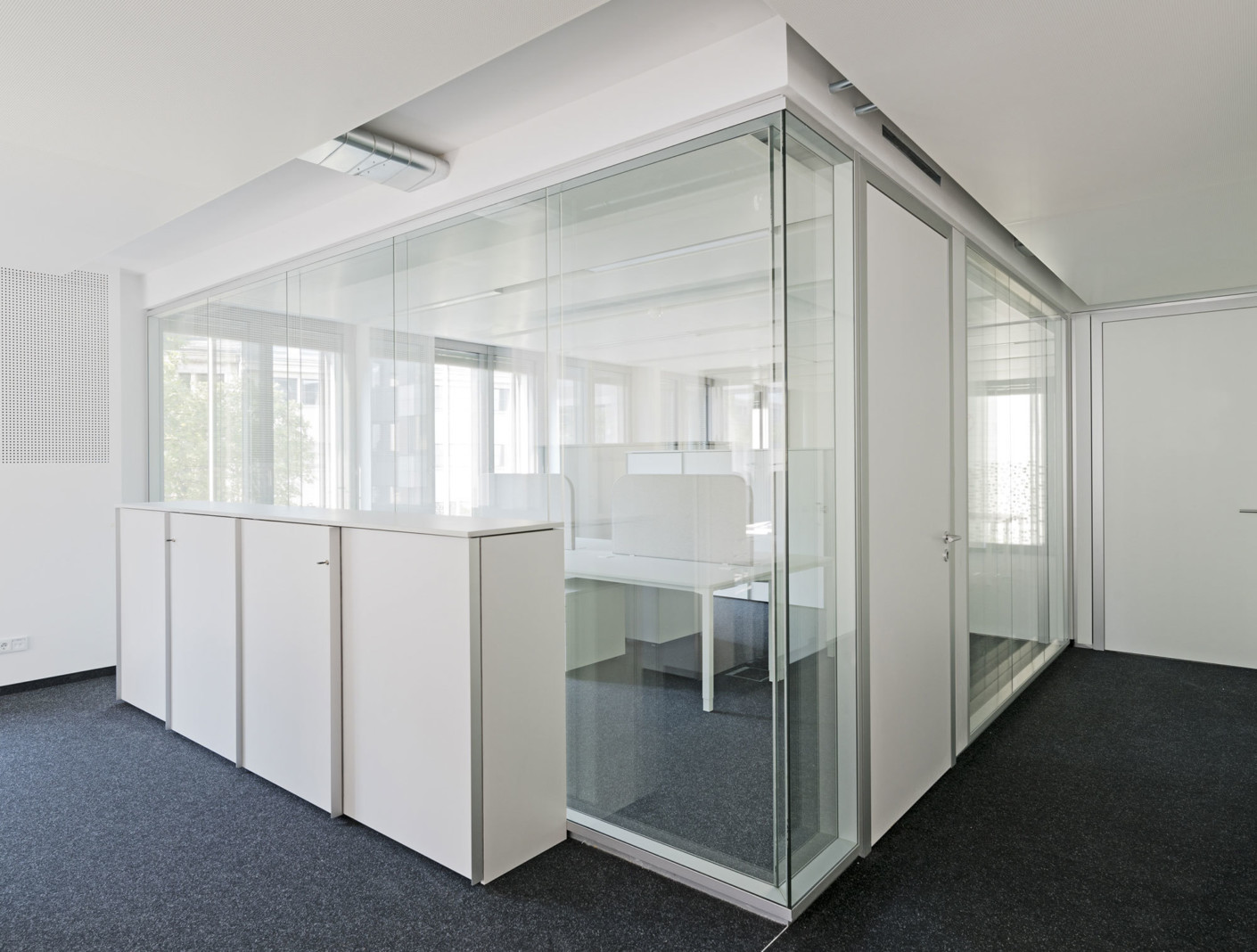 Glass partition Lindner Life 622 by Lindner Group