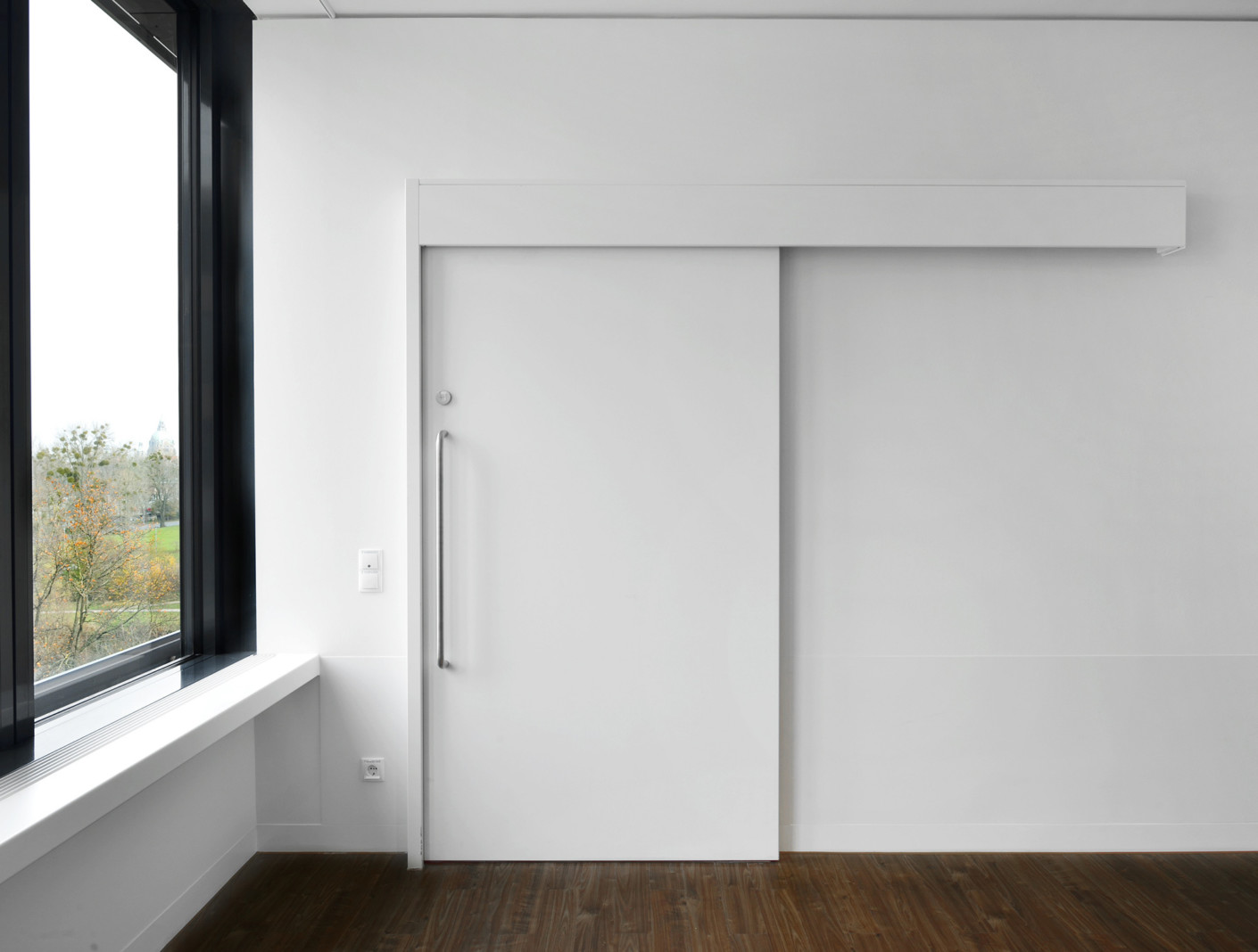 Soundproofing sliding door T0-1 by Lindner Group