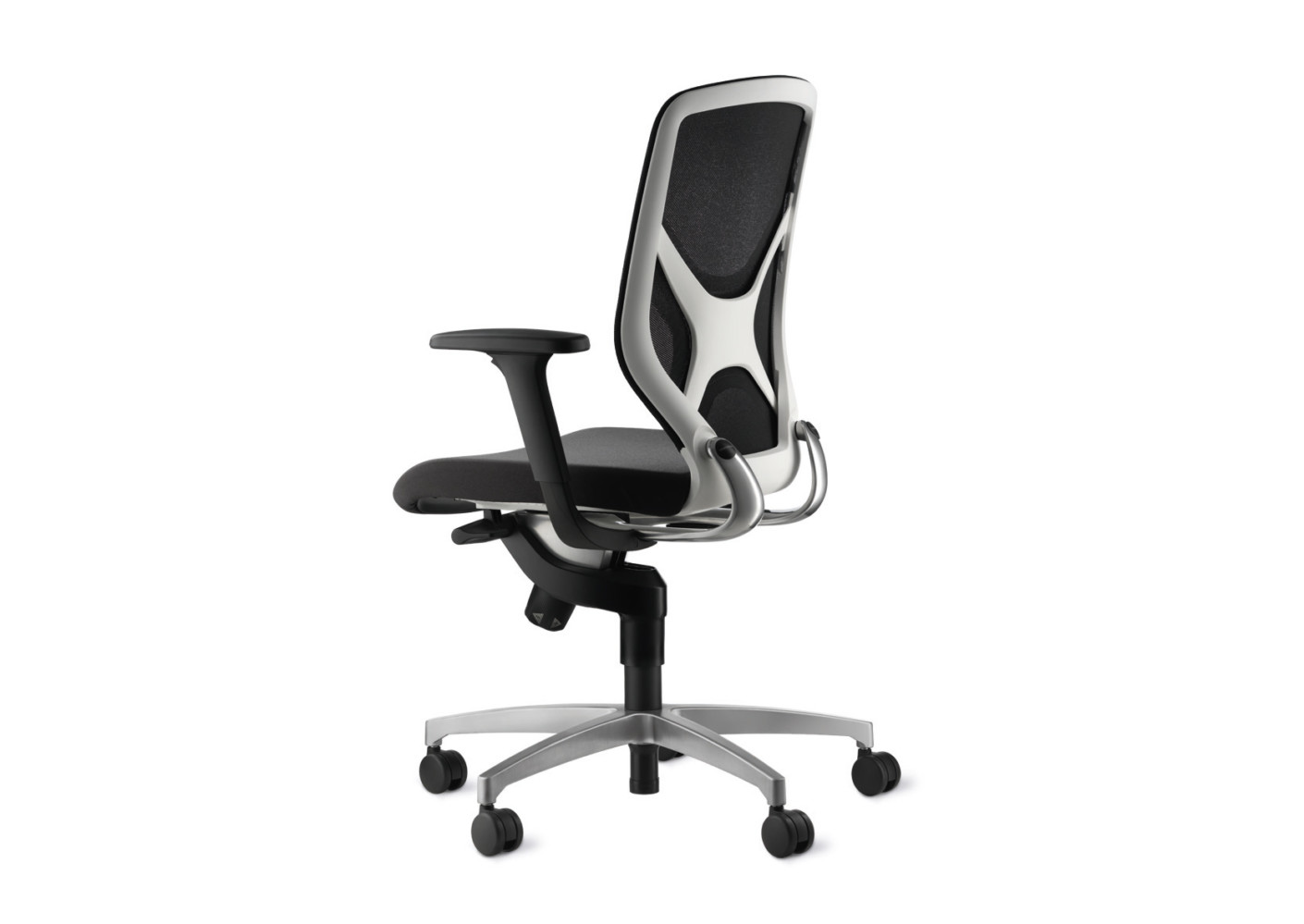 in 3d swivel chair white back element by wilkhahn stylepark. Black Bedroom Furniture Sets. Home Design Ideas