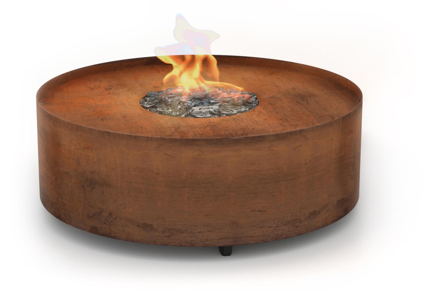 Galio Fire Pit Corten By Stylepark