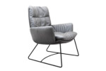 Arva Lounge armchair with skids  by  KFF