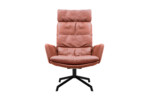 Arva Lounge armchair with 4-star base  by  KFF
