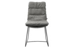 Arva chair with skids  by  KFF