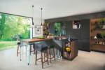 black line kitchen  by  TEAM 7