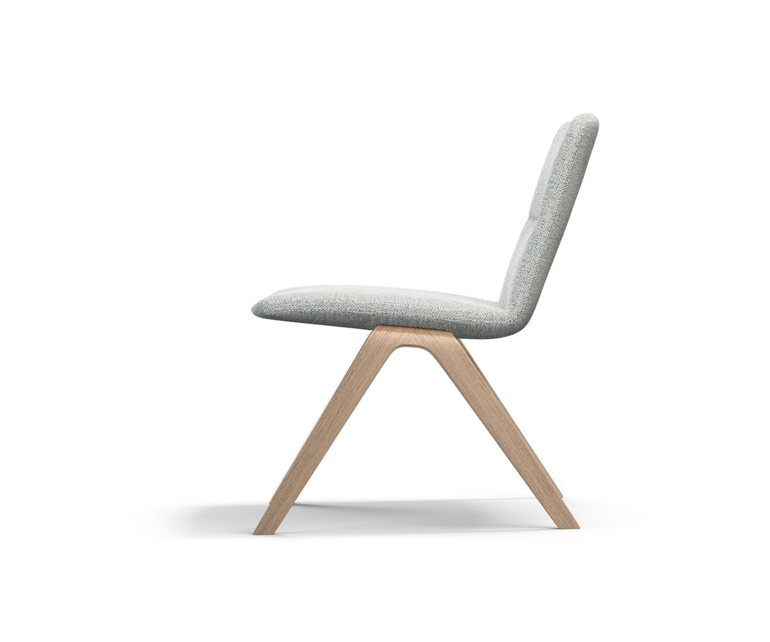 "The ""A-Lounge"" chair designed by Jehs + Laub has a disciplined design and perfectly complements Brunner's ""A-Collection."""