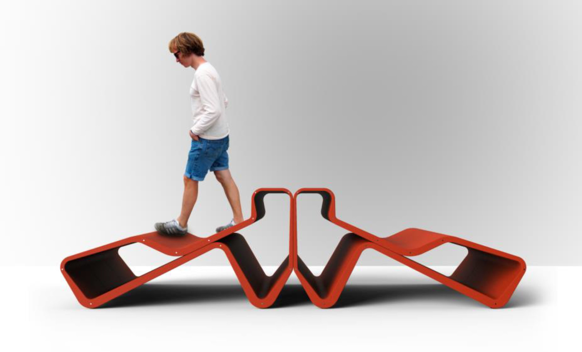 "The extraordinary chaise longue ""Relax"" was designed by Frankfurt architects Schneider + Schuhmacher for Koleksiyon."