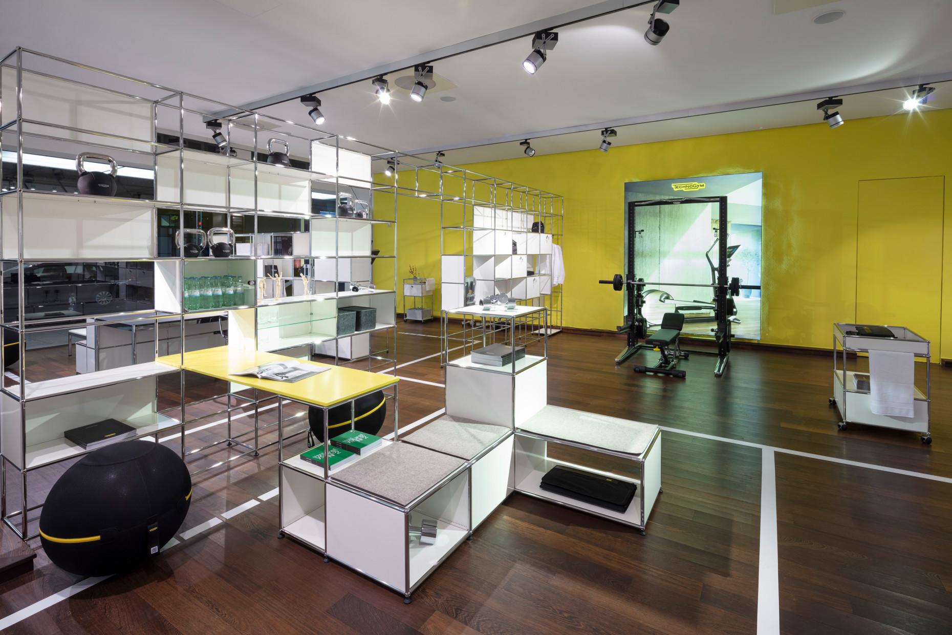 Usm x Retail Technogym Stylepark