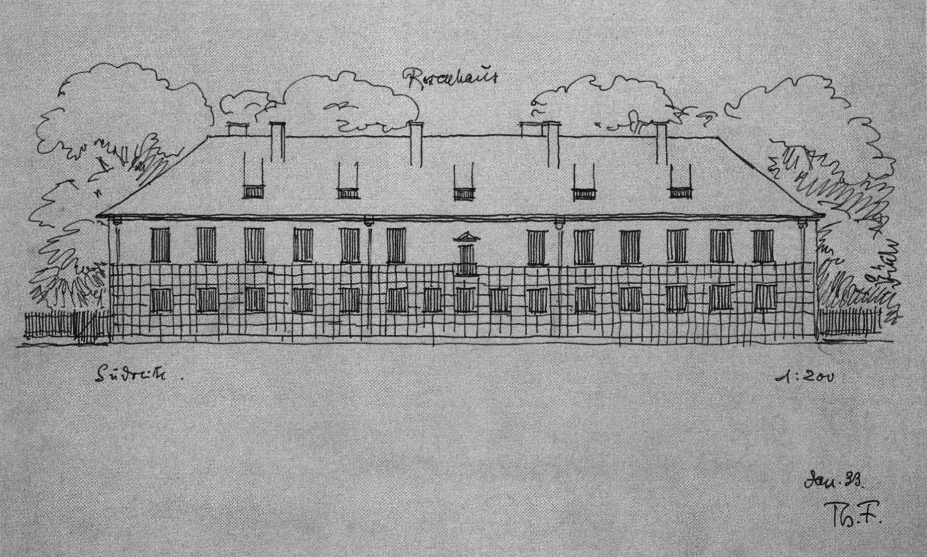 Adalbert Stifter S Rosenhaus As Influential Architecture Fantasy Stylepark