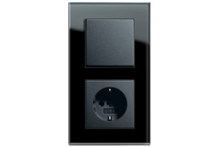 Esprit switch/socket outlet  by  Gira