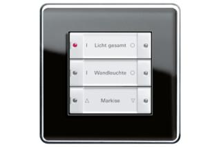 Esprit push button sensor basic 3, 3-gang  by  Gira