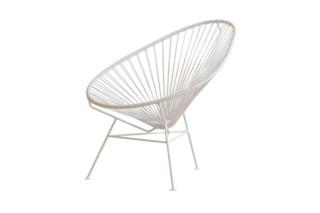 Acapulco Chair Classic Blanco  by  ACAPULCO DESIGN