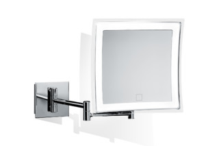 BS 84 cosmetic mirror illuminated  by  Decor Walther