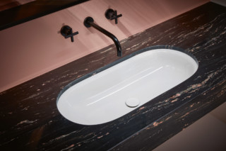 BETTECOMODO undermount washbasin  by  Bette