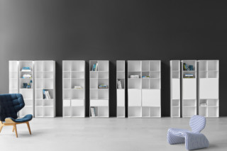 Nex Pur shelf  by  Piure
