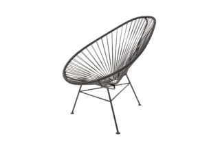 Acapulco Chair Classic Negro  by  ACAPULCO DESIGN