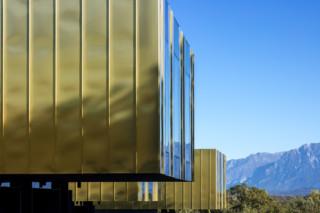 TECU® GOLD, The Lodge, Fagagna, Italy  by  KME
