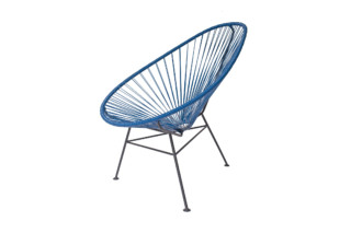 Acapulco Chair Classic Azul Rey  by  ACAPULCO DESIGN
