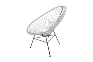 Acapulco Chair Classic Gris  by  ACAPULCO DESIGN