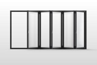 Bi-folding door  by  Solarlux