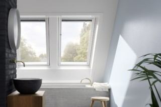 Light solution with large window area  by  VELUX