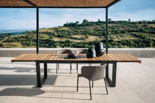 SPINNAKER extendable table  von  Roda