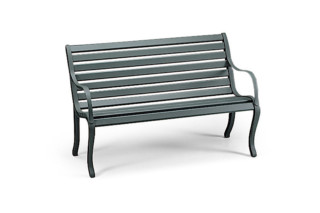 Oasi 2-seater bench  by  Fast