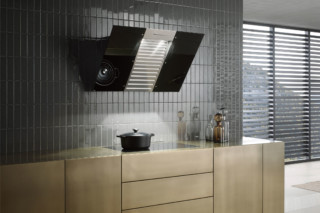 Cooker hood DA 6096 W Black Wing  by  Miele