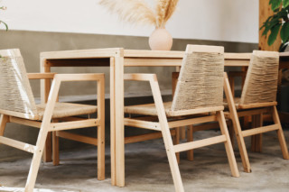 Genua Dining Table and Chair HK4+5  by  MDT tex
