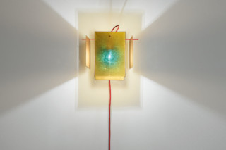 24 Karat Blau wall lamp  by  Ingo Maurer
