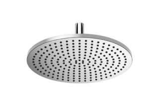 Rounded Generic rain shower with ceiling fixing  by  Dornbracht