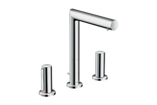 Axor Uno 3-hole basin mixer 200 zero handle with pop-up waste  by  AXOR