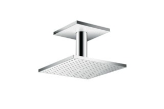 Axor Showers Overhead shower 250/250 1jet with ceiling connection  by  AXOR