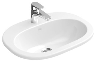 Built-in washbasin O.novo  by  Villeroy&Boch Bath&Wellness