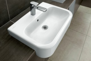 Semi-recessed washbasin Architectura  by  Villeroy&Boch Bath&Wellness