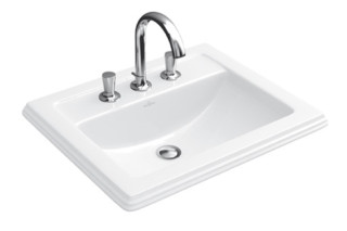 Built-in washbasin Hommage  by  Villeroy&Boch Bath&Wellness